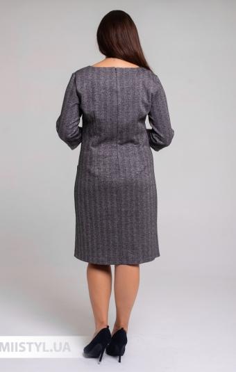 Платье Mari&Mar 0077113 Черный/Пудра/Люрекс