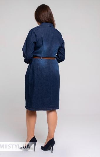 Платье Sisline 4704-1 Джинсовый