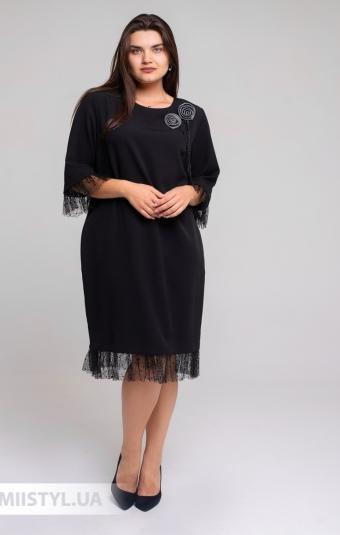 Платье Tessy 6465 Черный
