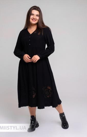 Платье Tessy 6460 Черный