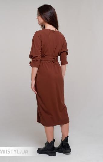 Платье DZYN 7925 Коричневый