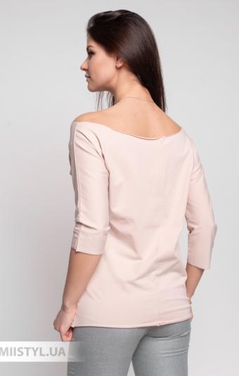 Блуза Giocco 5639 Пудра/Принт