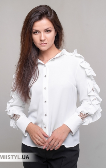 Блуза Moda Linda 10005 Белый