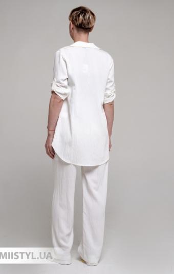 Платье La Fama 1231-B Пудра/Принт