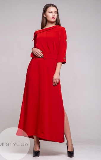 Платье Green World 7198 Красный