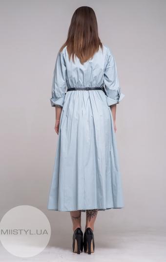 Платье BIZE Fashion 19Y2086 Голубой