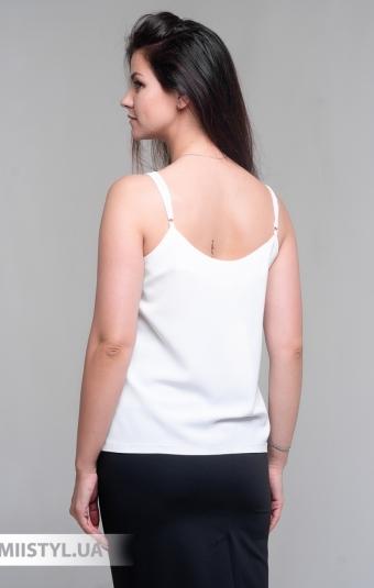 Блуза Esito 1564 Белый/Голубой/Принт