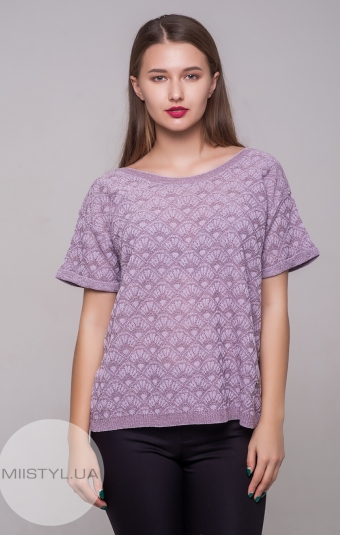 Блуза Serianno 10C4928 Лиловый/Люрекс