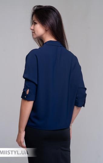Блуза Pretty Lolita 12866 Темно-синий