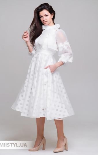 Платье Behcetti 14653 Белый