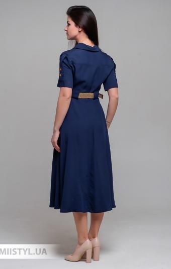 Платье Fen-ka 40016 Темно-синий