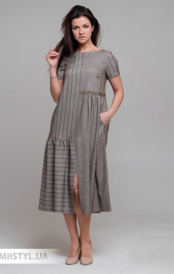 Платье Laqbi Y20112 Хаки