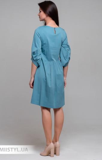 Платье Laqbi Y20095 Голубой