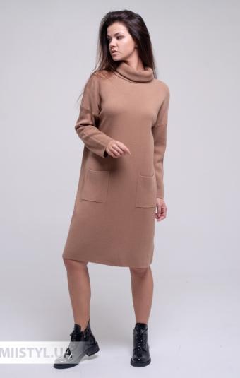 Платье J&J 0329 Кемел