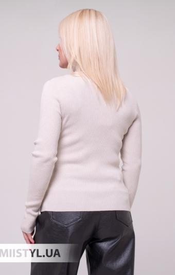 Блуза Cliche 3359514 Молочный/Индиго/Принт