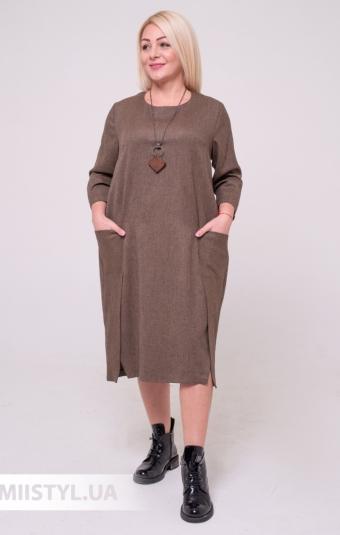 Платье CHARMING 19038 Черный/Принт