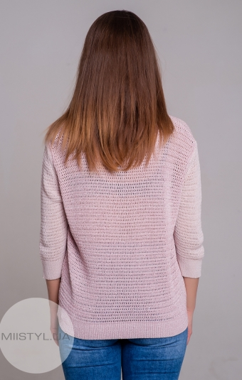 Блуза Serianno 10C5172 Розовый/Люрекс
