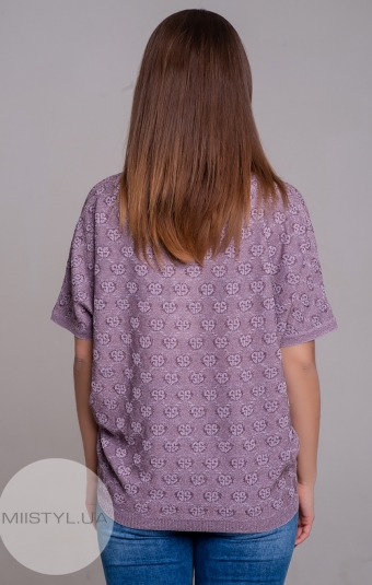 Блуза Serianno 10C4954 Лиловый/Люрекс