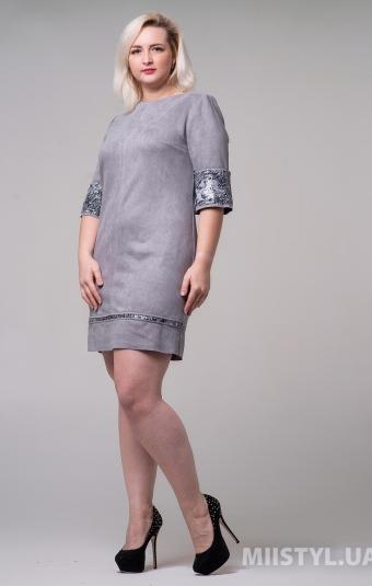Платье Nikolo Polini 1058/4 Серый