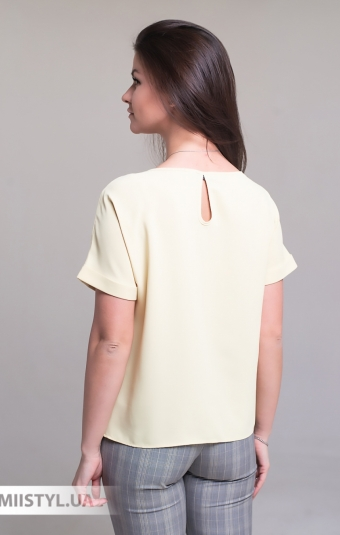 Блуза Pretty Lolita 12671 Светло-горчичный
