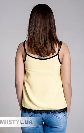 Блуза La Fama 1107 Желтый/Черный