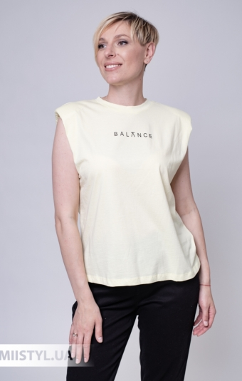 Платье Nikolo Polini 3019 Белый/Темно-синий/Горох