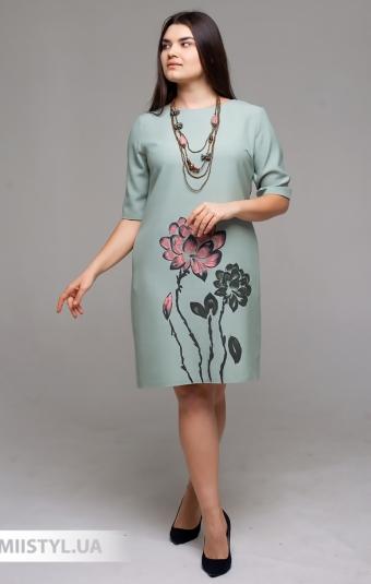Платье La Fama 1490-B Мятный