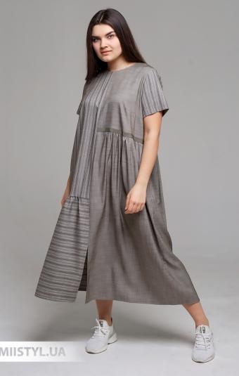 Платье Laqbi Y20113B Хаки