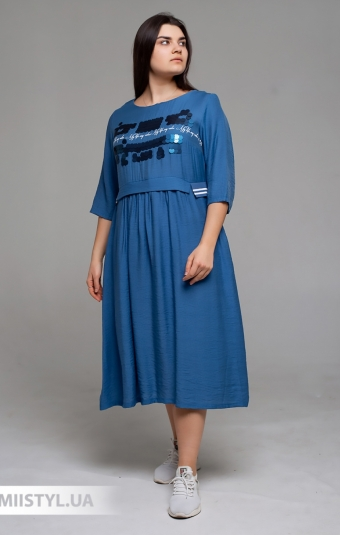 Платье Tessy 6420 Индиго