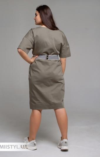 Платье Mira Mia 209610 Хаки