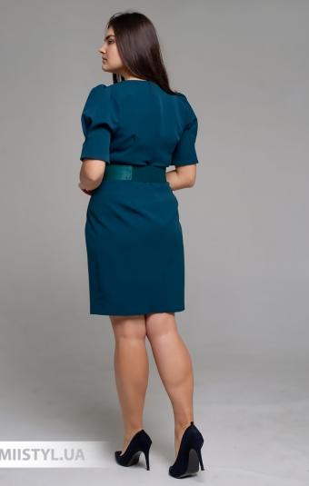 Платье F&K 3441-B Изумрудный