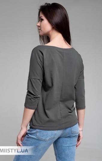 Блуза Giocco 5671 Хаки/Принт