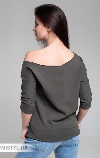 Блуза Giocco 5639 Хаки/Принт