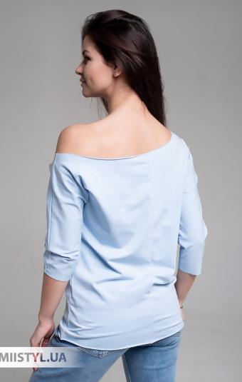 Блуза Giocco 5639 Голубой/Принт