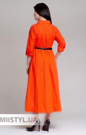 Платье BIZE Fashion 19Y2086 Оранжевый