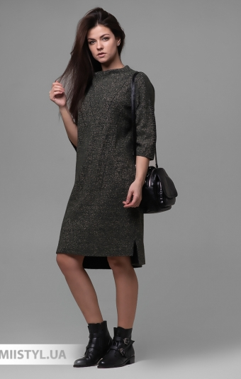 Платье Serianno 10С6384 Хаки