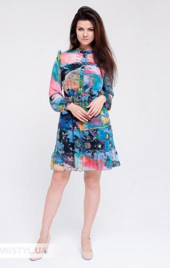 Платье Rica Mare RM1383-20DD Фиолетовый