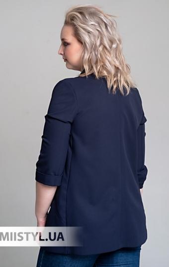 Жакет F&K 5186 Темно-синий