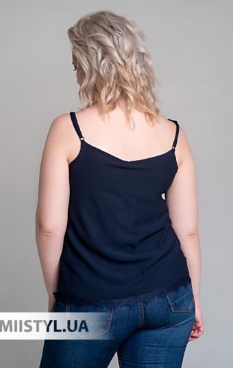 Блуза La Fama 1107-B Темно-синий