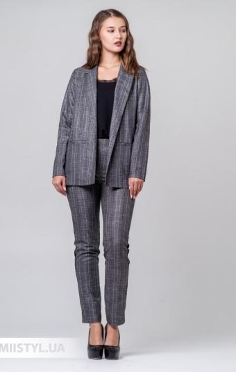Костюм F&K 15061-1 Серый/Розовый/Полоска