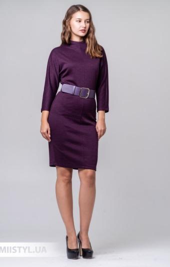 Платье F&K 3397 Баклажановый/Меланж