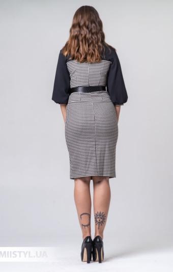 Платье Lady Morgana 4916 Черный/Белый/Лапка