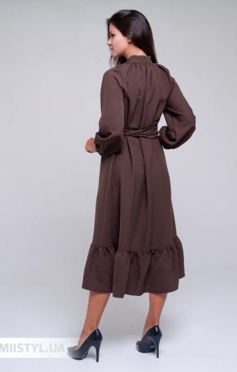 Платье La Julyet 6705 Коричневый