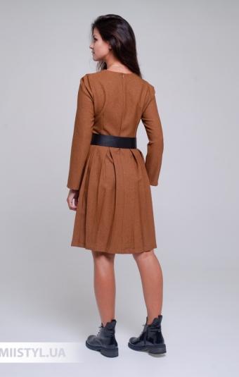Платье La Julyet 6690 Кемел/Люрекс