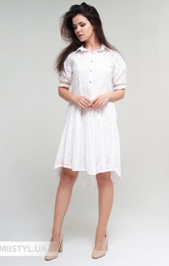 Платье Mahoy D987 Белый