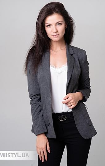 Жакет SHN 1012 Темно-серый