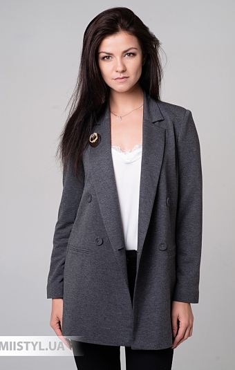 Жакет SHN 1010 Темно-серый