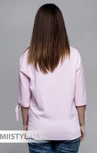 Джемпер короткий рукав HZ 6049 Розовый