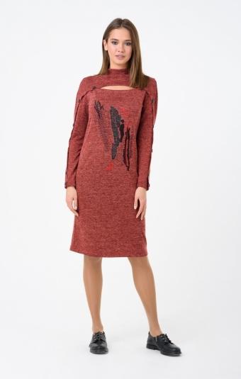 Платье RM1236-18DD Красный