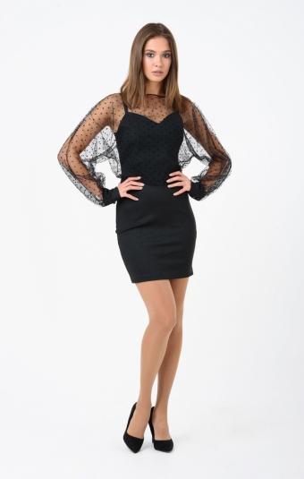 Платье RM1902-18VC Черный